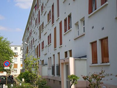 Appartement F3.de 51m2,cave.Parking